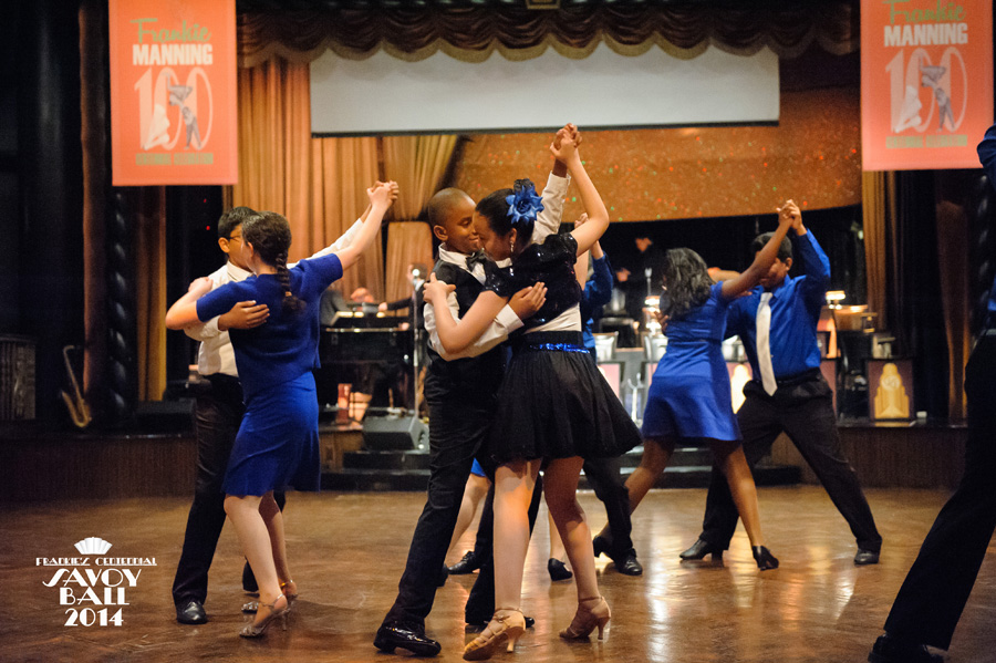 Dancing Classrooms Lindy Hoppers at Frankie's Centennial Savoy Ball-2014